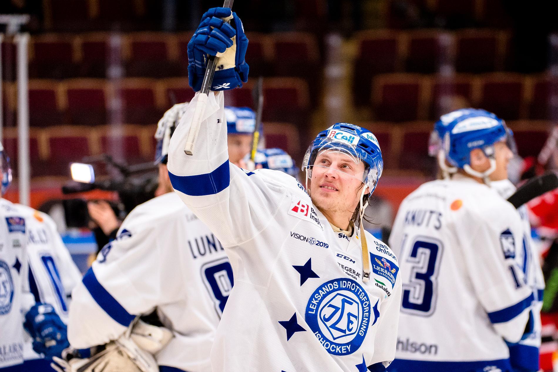 David Åslin är tillbaka i Leksand.
