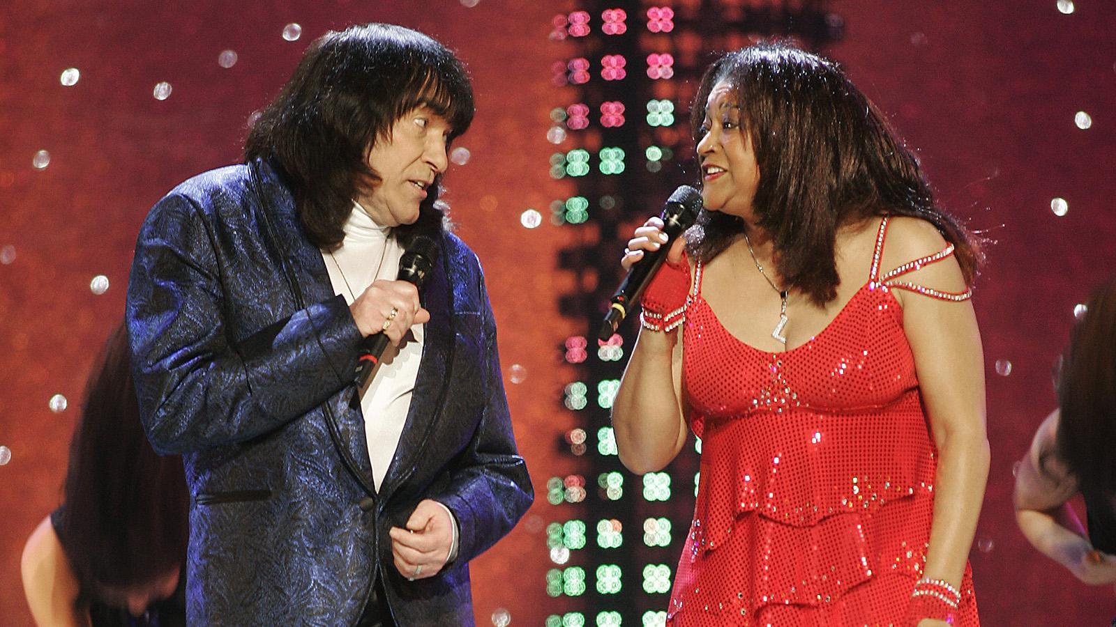 Svenne & Lotta gästspelade i Melodifestivalen 2005.