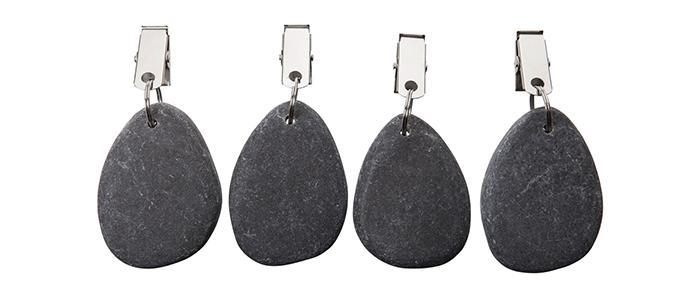 Duktyngd Sten, 69 kr/4 pack, Granit.