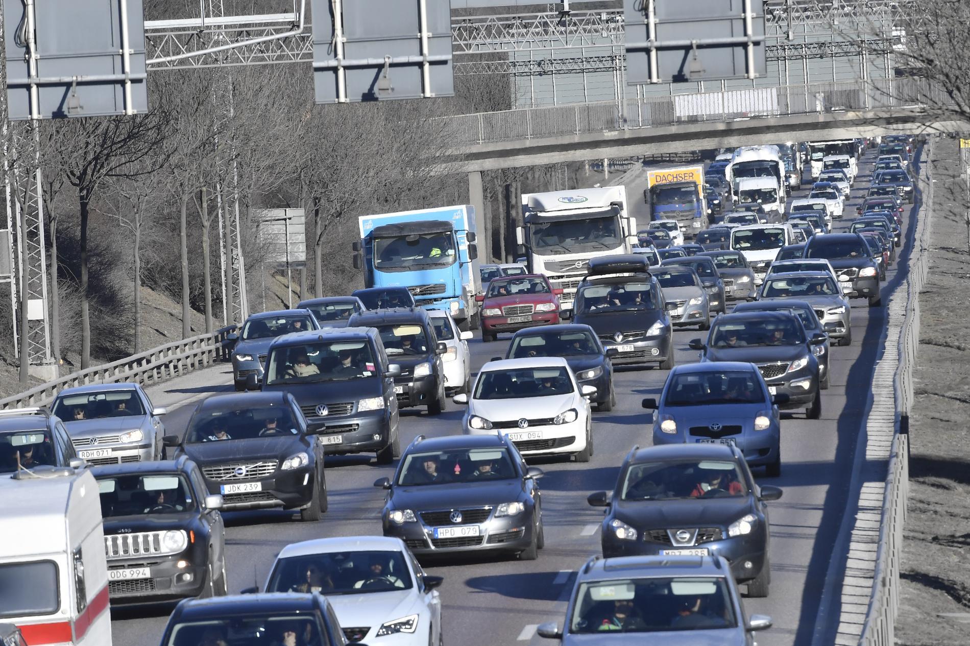 I fjol körde vi mer bil än någonsin tidigare, enligt Trafikanalys senaste statistik. Arkivbild.