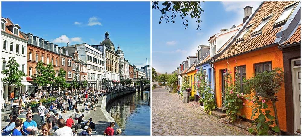 Århus är en mysig stad som passar perfekt för en weekend med familjen.