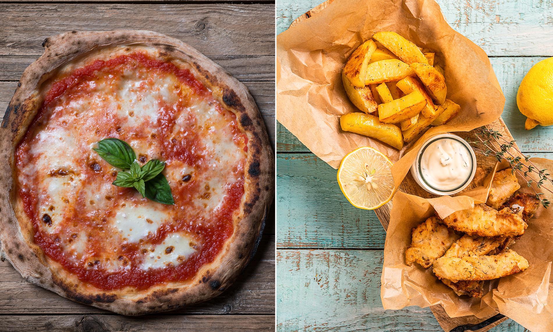 Pizza mot fish and chips – vem har bäst mat av finalisterna i fotbolls-EM? Experterna avgör.