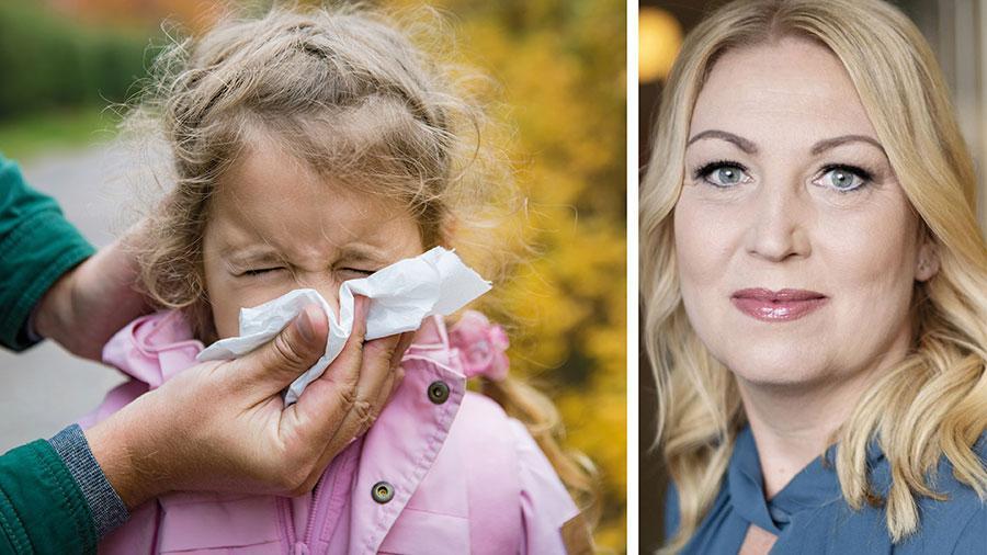 Barn med sjukdomssymptom borde alltid vara hemma från förskolan. Det är faktiskt märkligt att den myndighet som bär ansvar för folkhälsan inte dragit den slutsatsen, skriver Johanna Jaara Åstrand, Lärarförbundet.