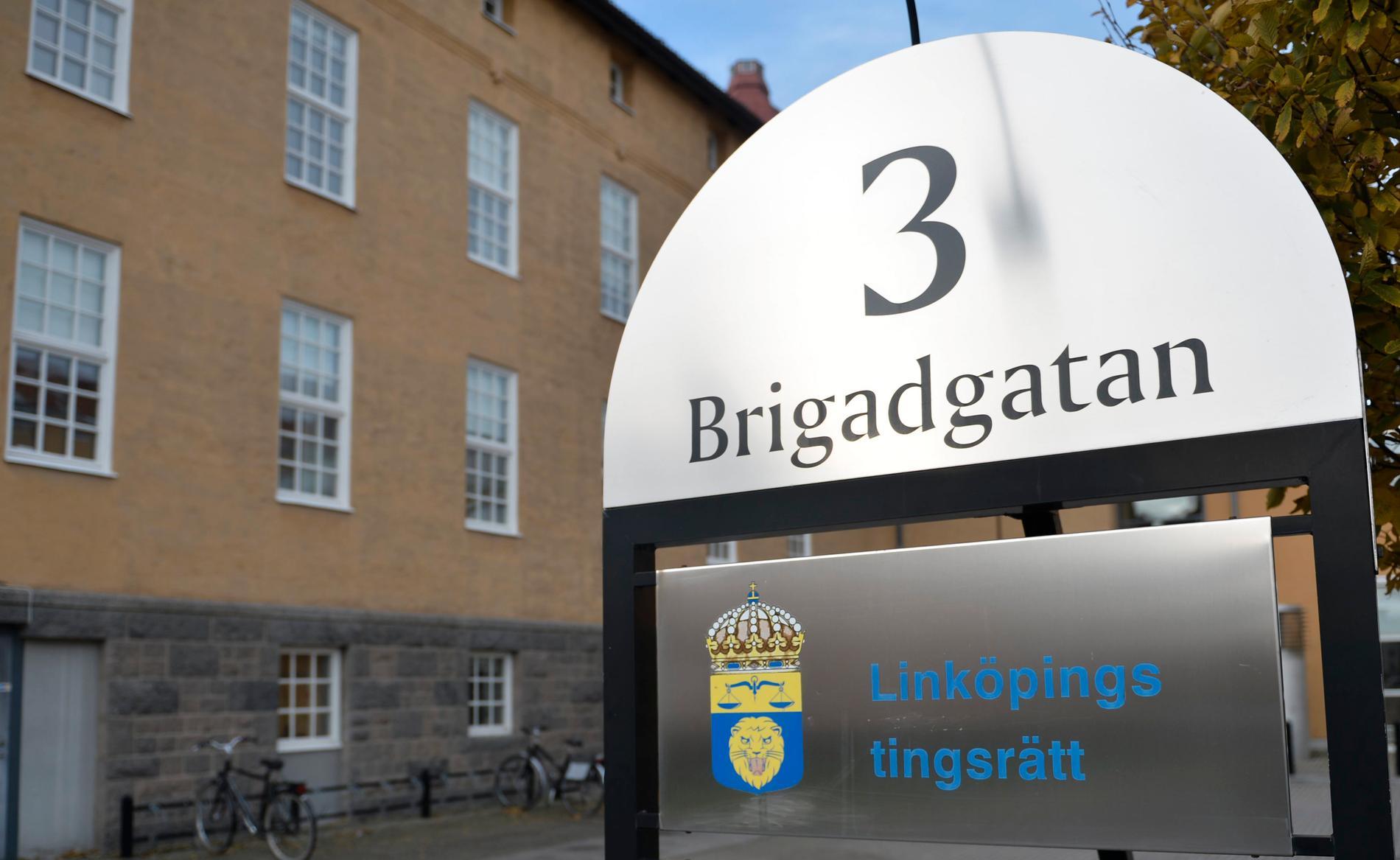 Huvudförhandlingen i Linköpings tingsrätt avslutas på onsdagen. Arkivbild.