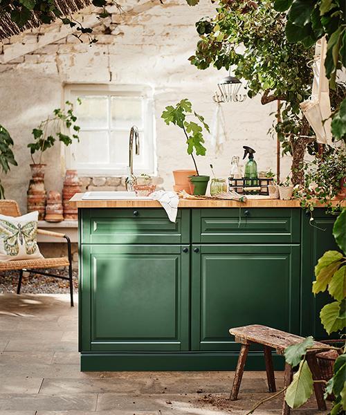 Köket Metod Bodbyn från Ikea.