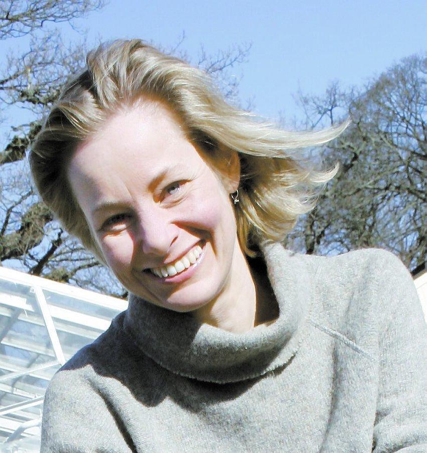 Lisen Sundgren, expert på örter.