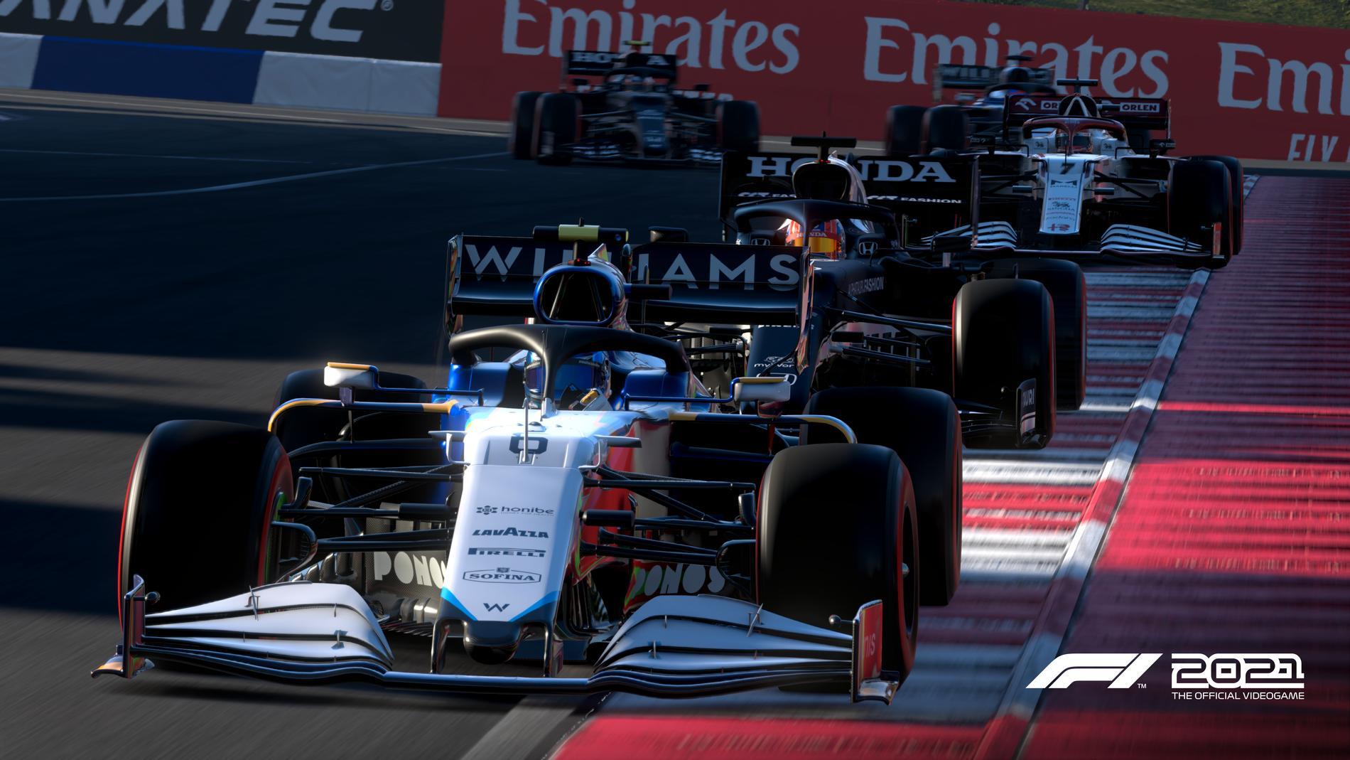 F1 2021 är ett roligt och verklighetstroget racingspel.