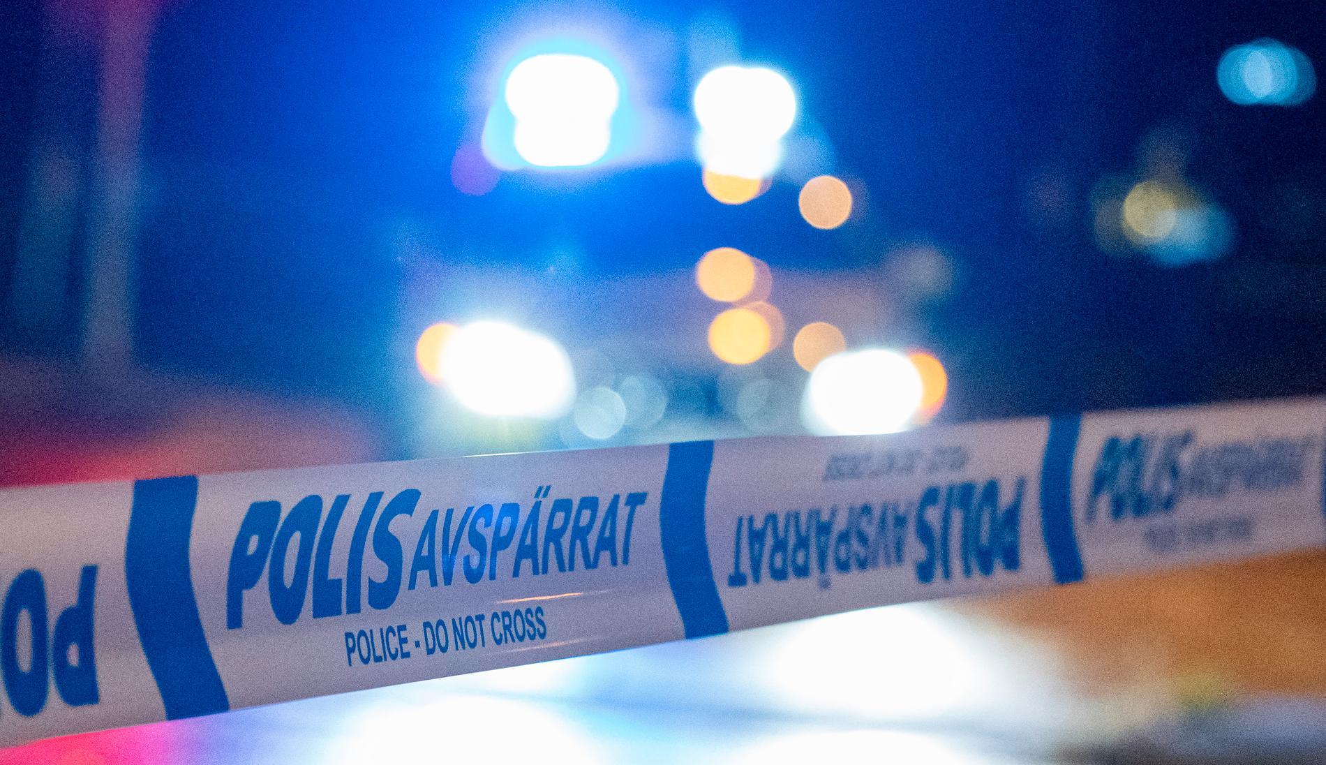 Polisen utreder ett misstänkt mordförsök i Östersund. Arkivbild.