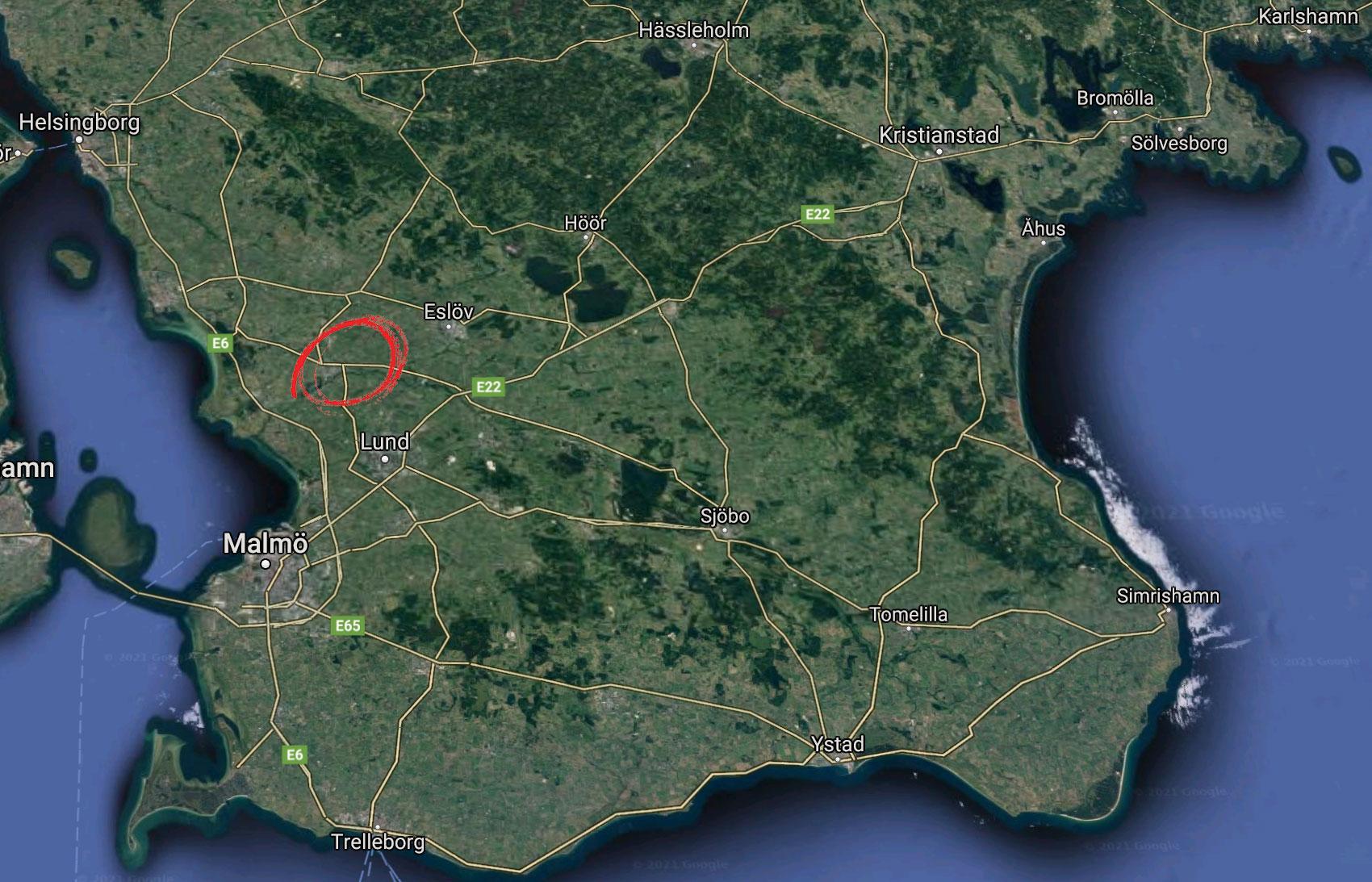 Drygt 32 000 personer bor i Kävlinge kommun i Skåne.