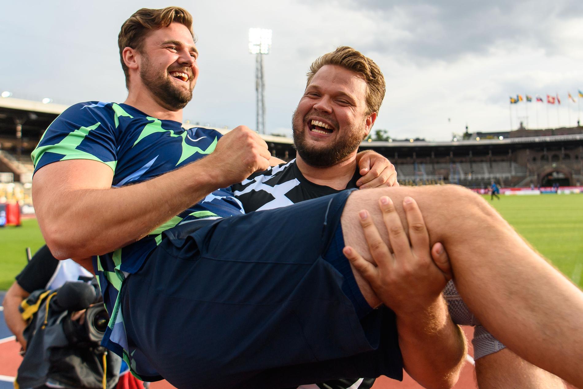 Daniel Ståhl och Simon Pettersson.