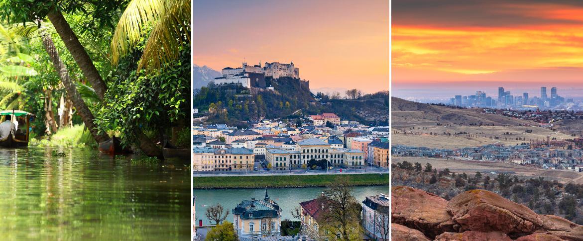 Här är de bästa städerna att besöka 2020.