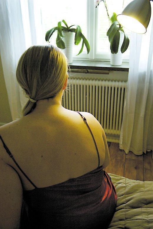 Klara, 30, har endometrios, en svår mensvärk. Sex lindrar henne smärta betydligt.