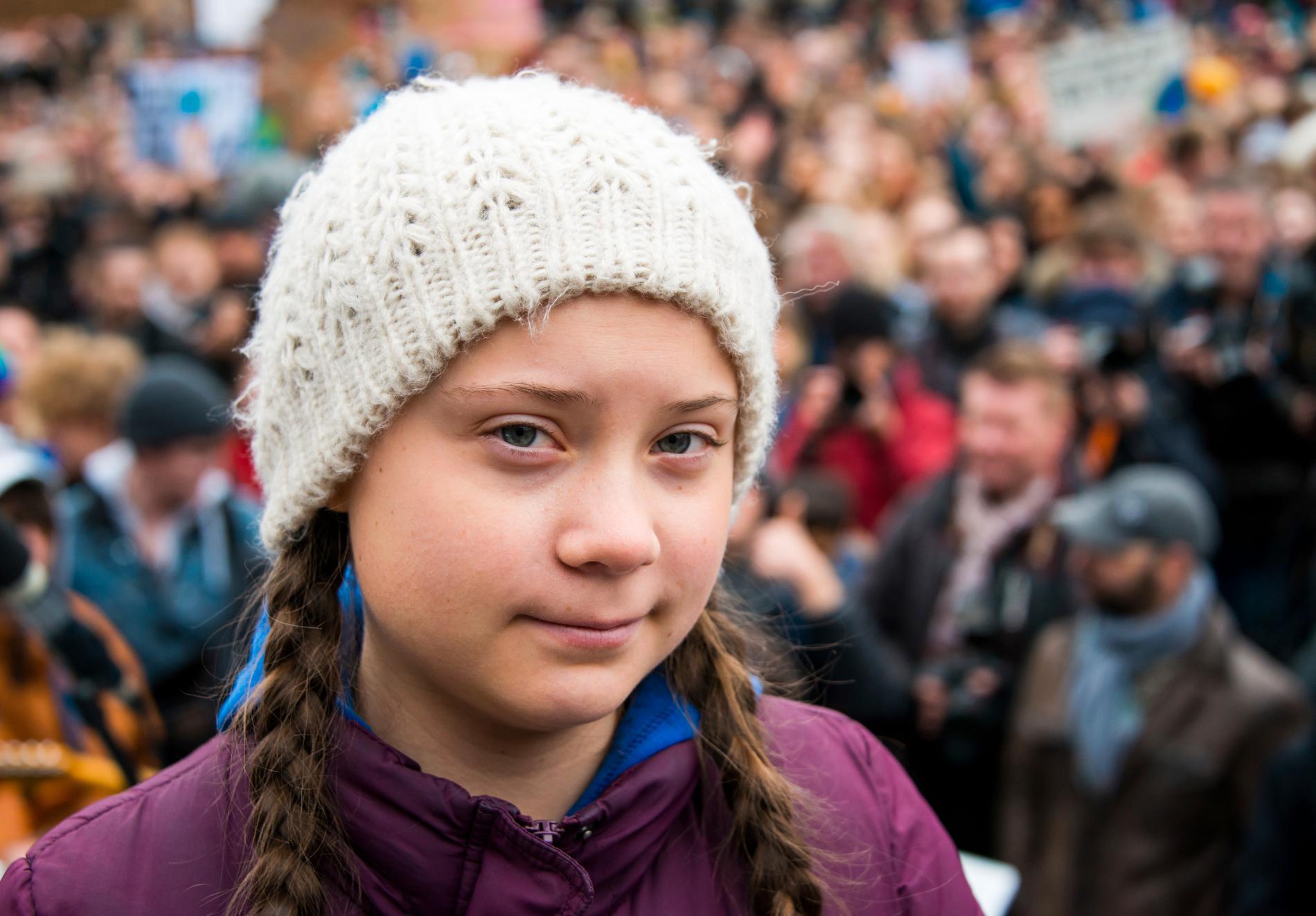 Den 16-åriga Greta Thunberg är nominerad till Nobels fredspris.