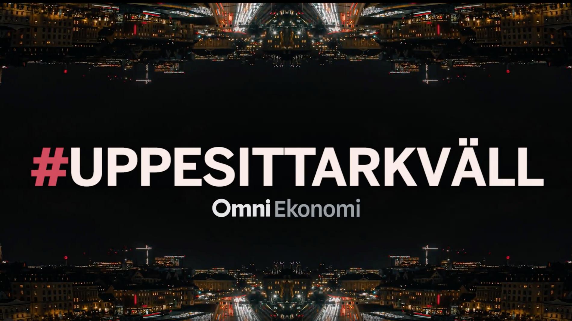 "I samarbete med Omni Ekonomi sänder Aftonbladet aktieprogrammet ""Uppesittarkväll""."