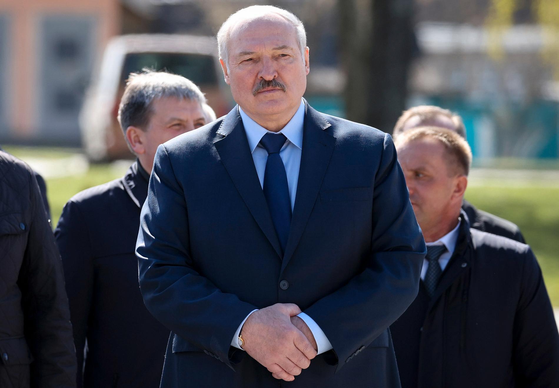 Den belarusiska presidenten Aleksandr Lukasjenko.