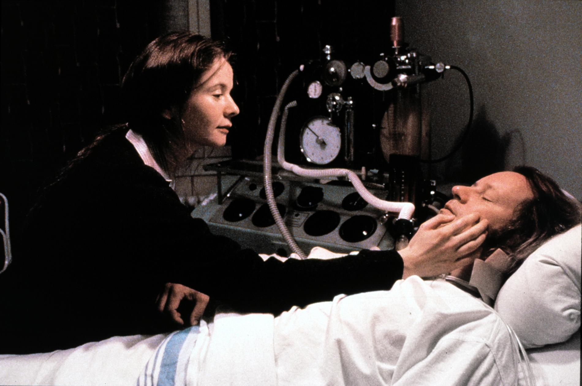 "Med Emily Watson i ""Breaking the waves"" från 1996."