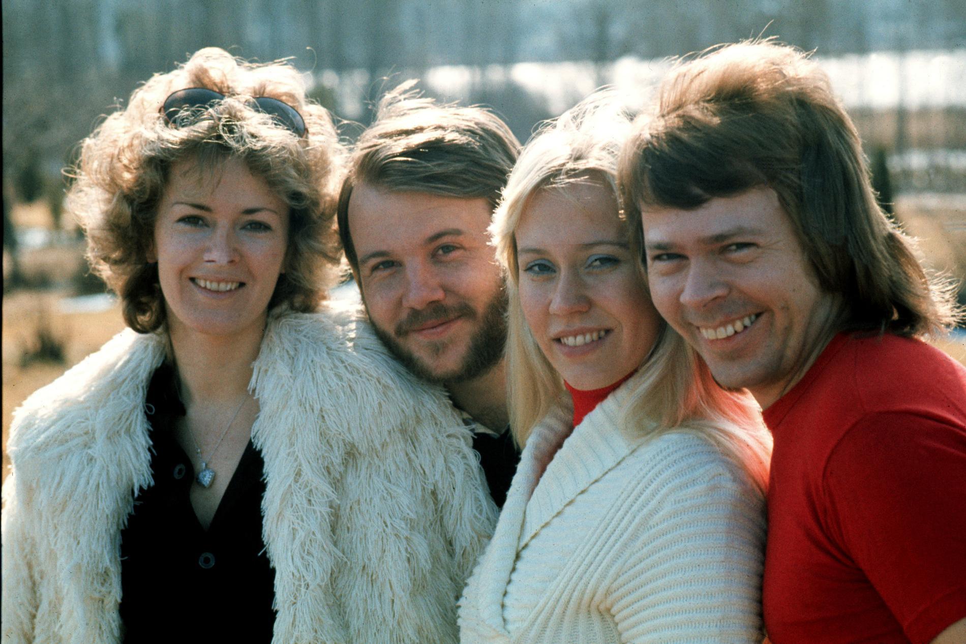 Abba på 70-talet.