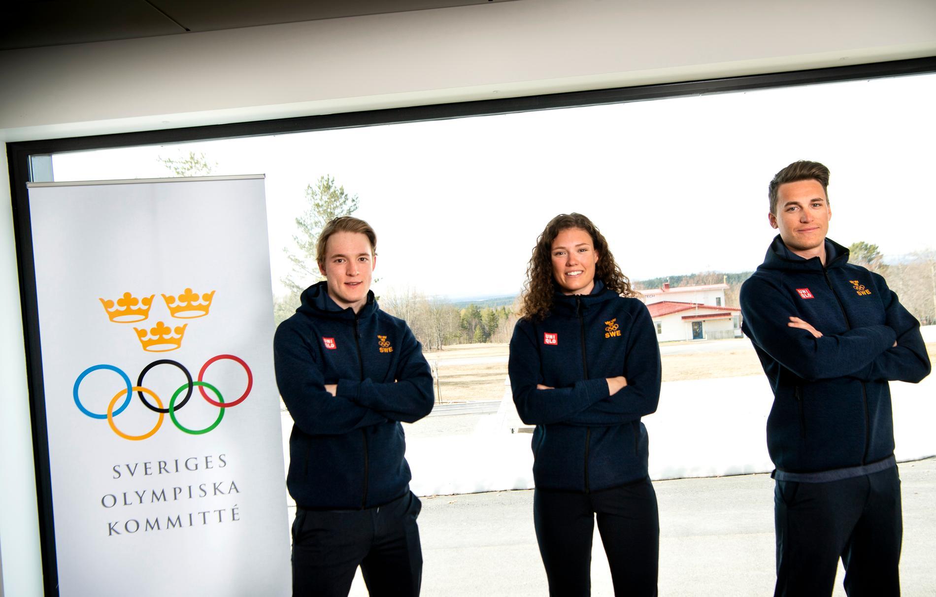 Sebastian Samuelsson, Hanna Öberg och Martin Ponsiluoma är klara för OS 2022.