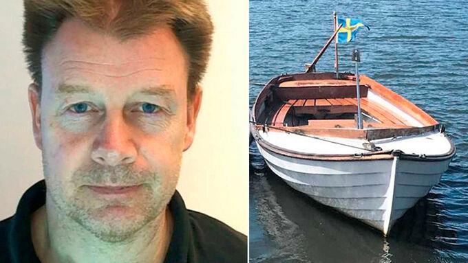 Polisen gick ut med bild på Mikael, 57, och hans Bohusjulle efter försvinnandet.