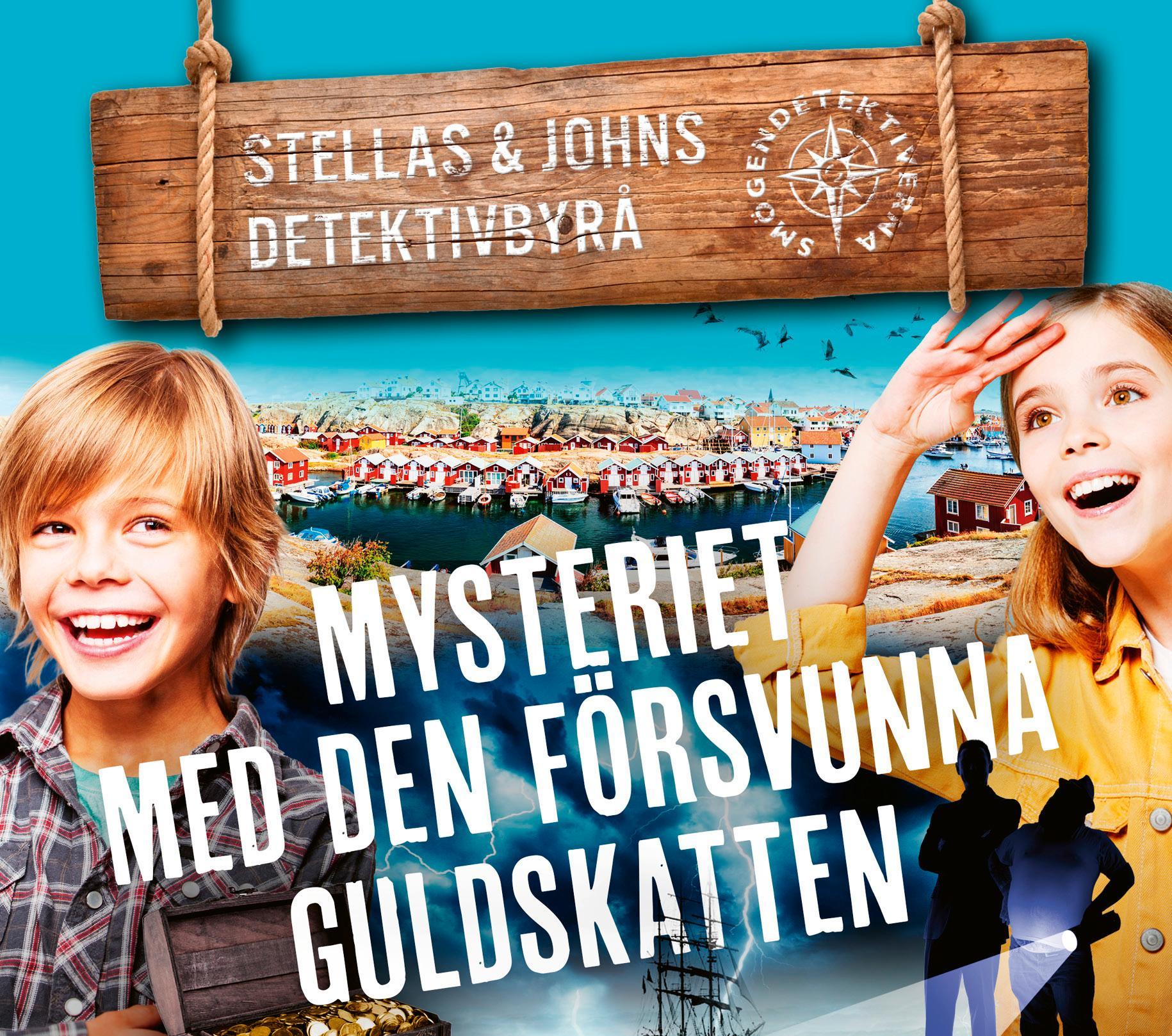 """Vinn """"Mysteriet med den försvunna guldskatten""""."""