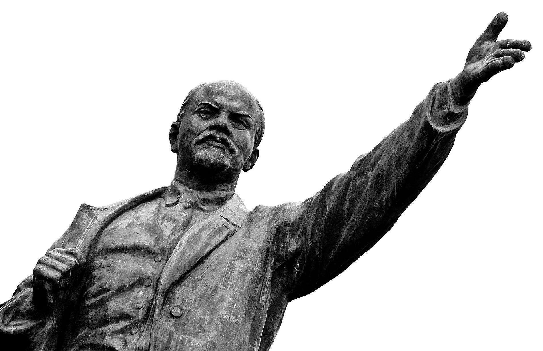 Vladimir Lenin, bolsjevikfraktionens ledare.