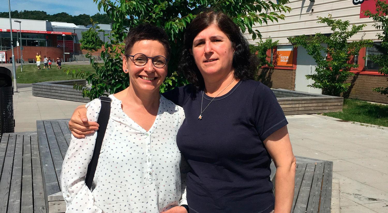 Ann-Sofie Hermansson (S) och Nalin Pekgul.
