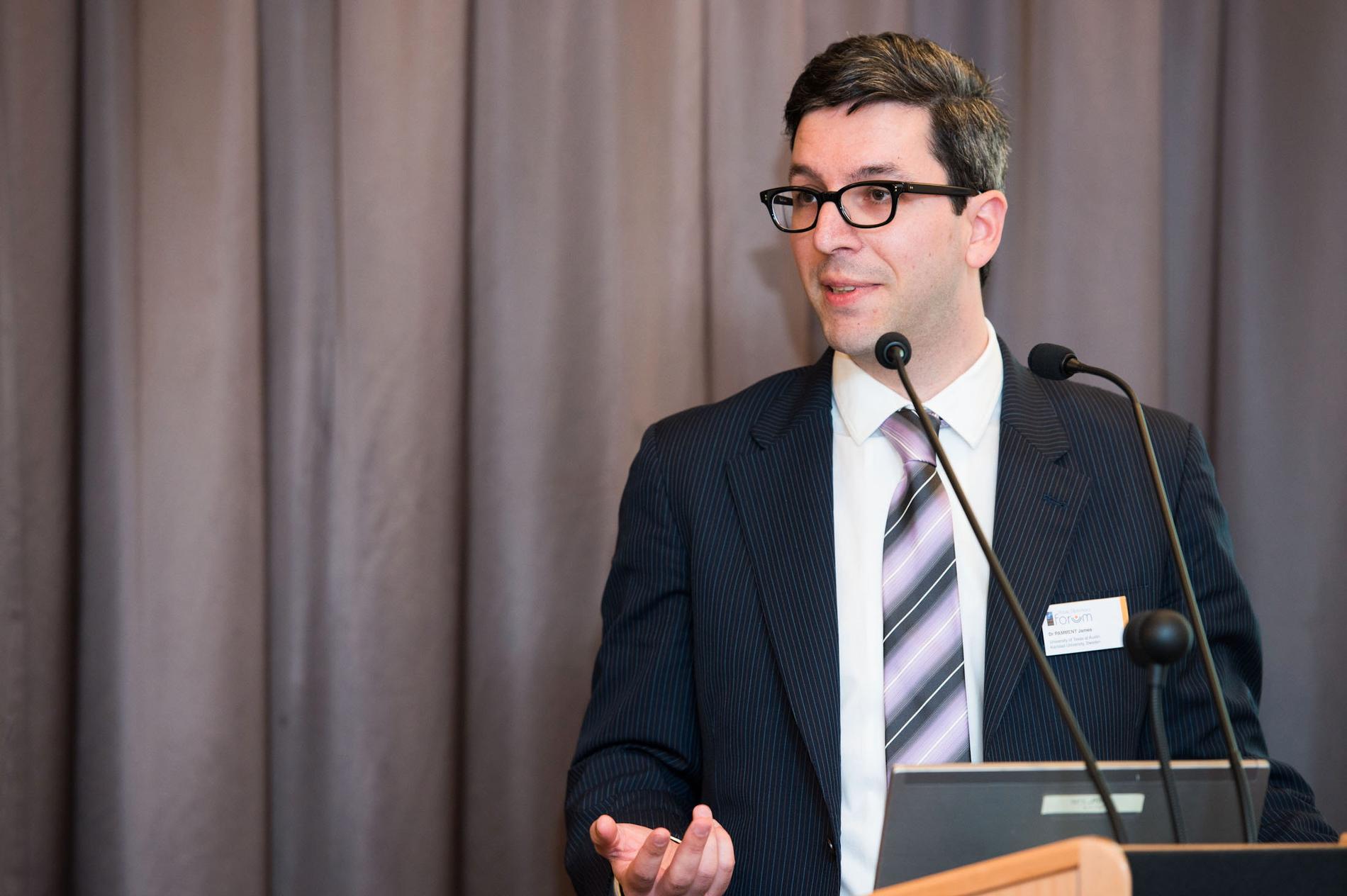 James Pamment, docent i strategisk kommunikation vid Lunds universitet.