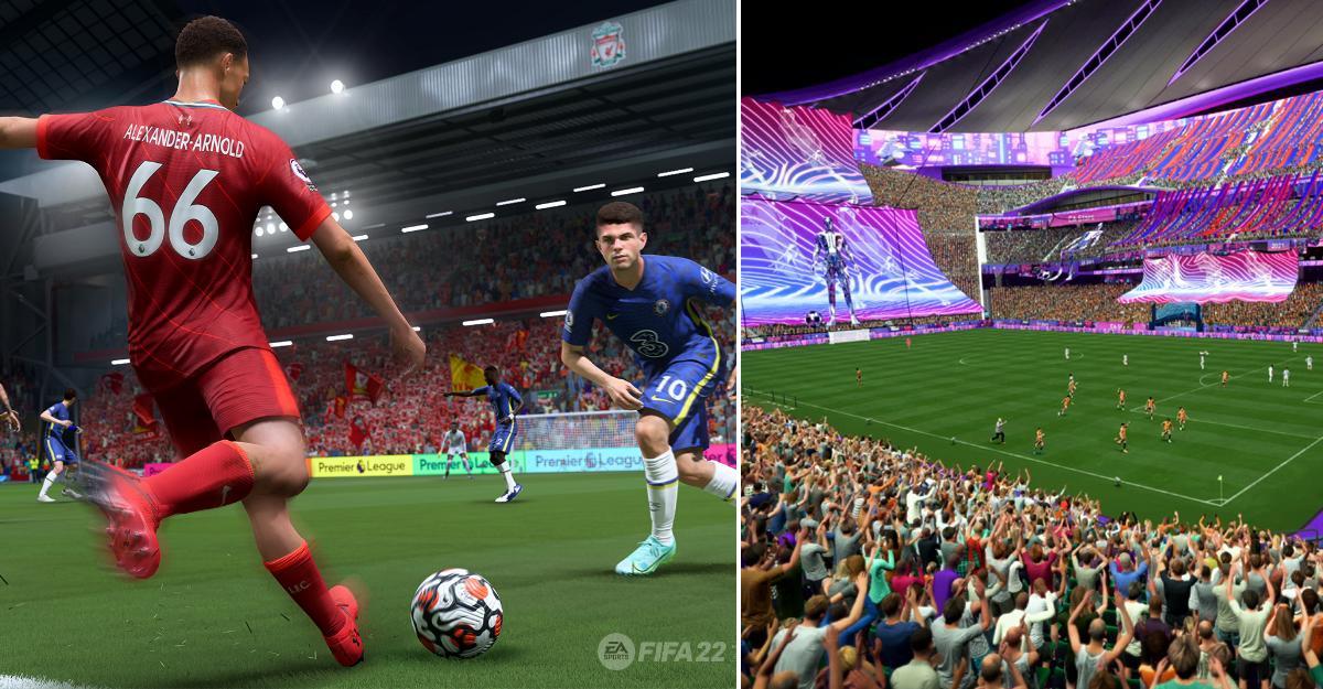 """""""HyperMotion""""-teknik gör att """"Fifa"""" allt mer flyter på som riktig fotboll."""