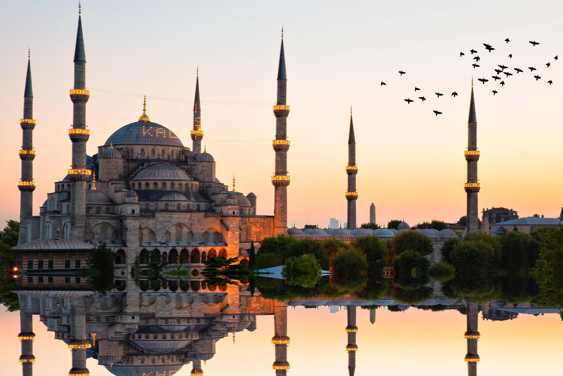 Istanbul toppar listan på sökta resmål.