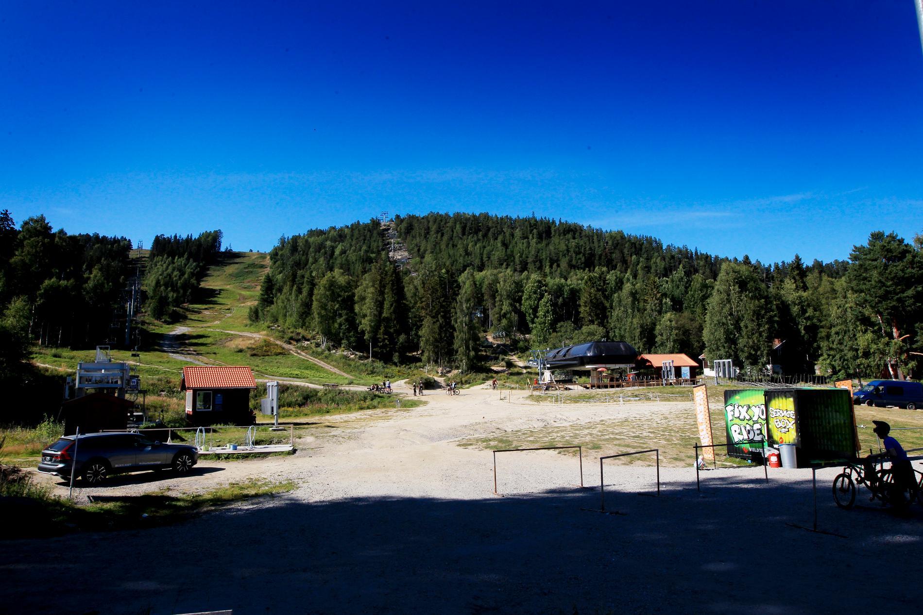 Järvsö bergscykelpark.