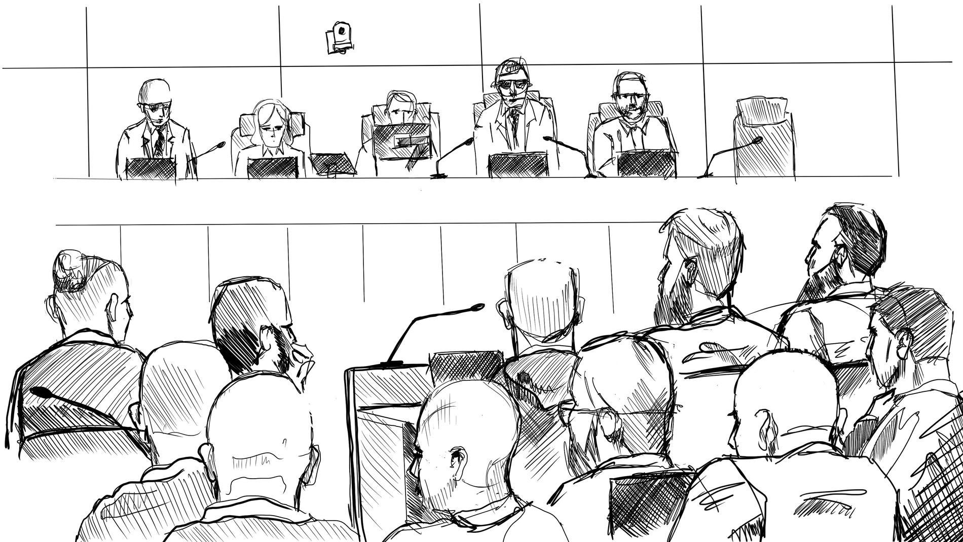 I dag drog den stora förhandlingen mot Vårbynätverket i gång i hovrätten, men rent fysiskt hålls den i säkerhetssalen vid Attunda tingsrätt. 27 personer dömdes till totalt 147 fängelse år när tingsrätten kom med sin dom.