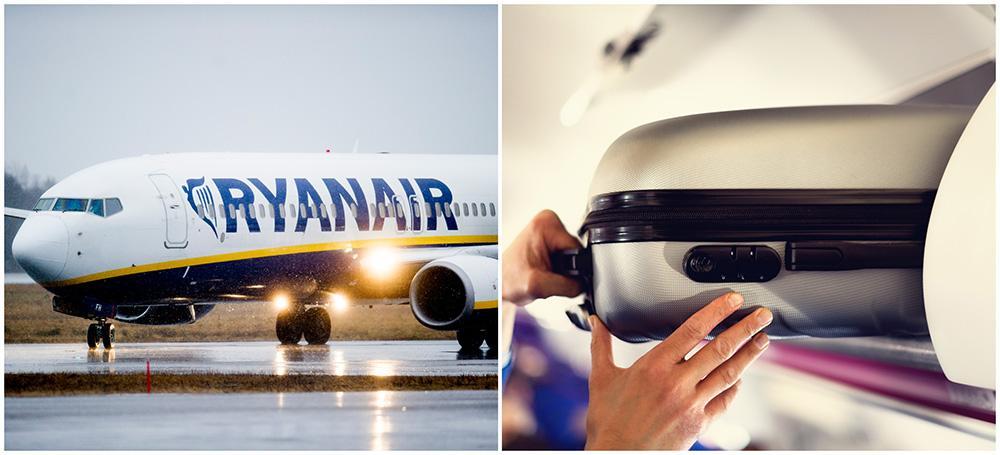 Nu inför Ryanair nya handbagageregler.