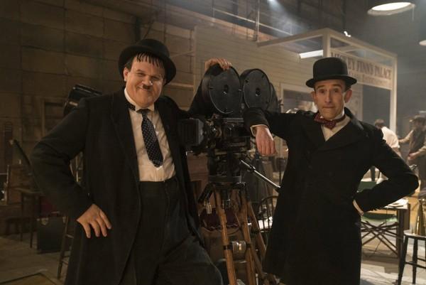 John C Reilly och Steve Coogan som Oliver Hardy och Stan Laurel.