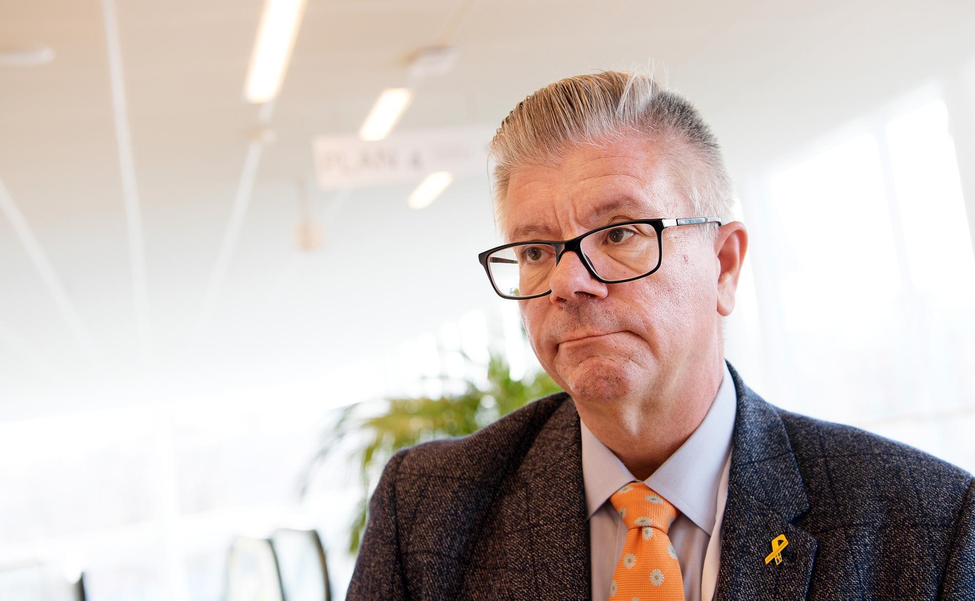 Moderaternas utrikespolitiske talesperson Hans Wallmark.