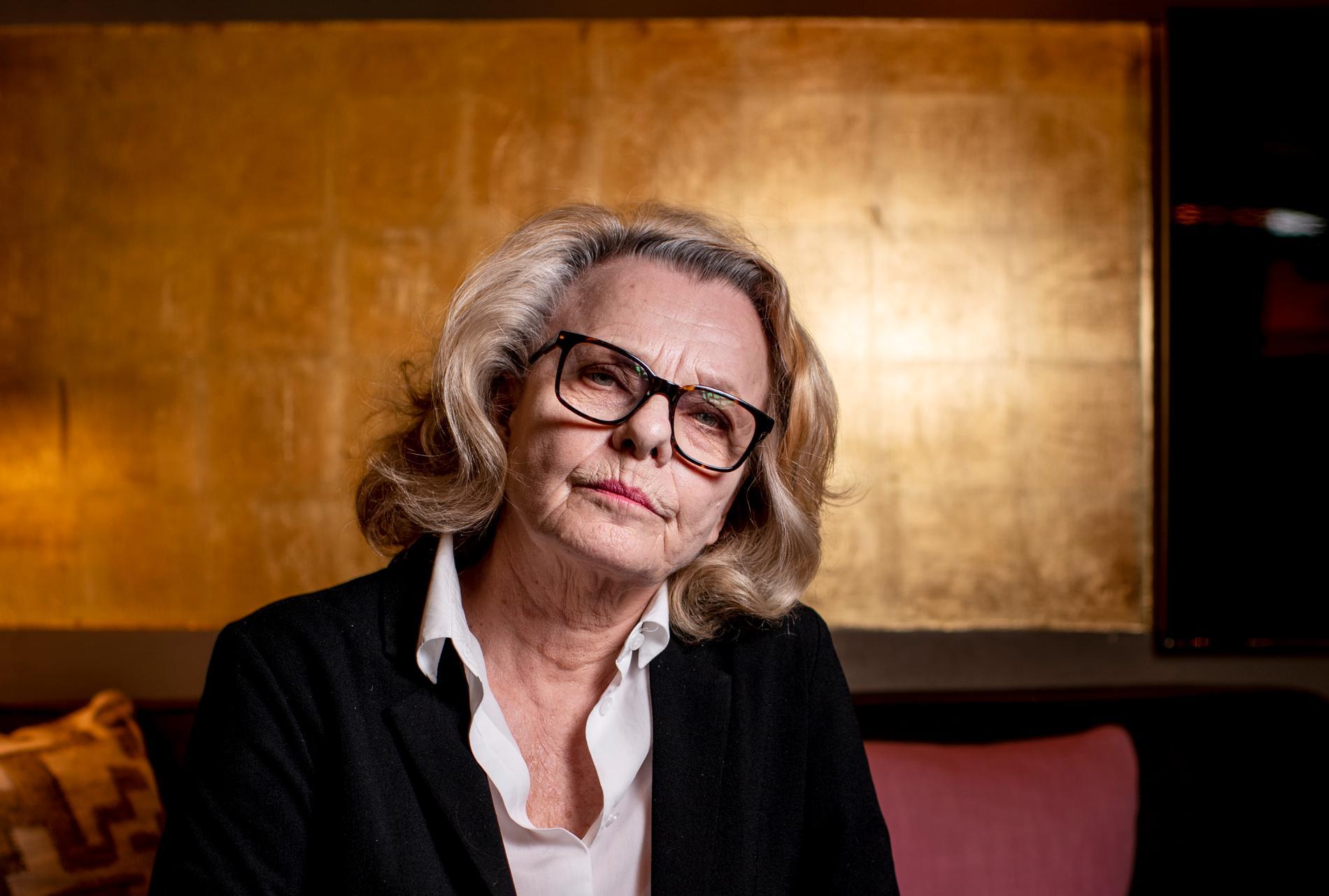 Skådespelaren Marie Göranzon står bakom uppropet för en tv-teater. Arkivbild.