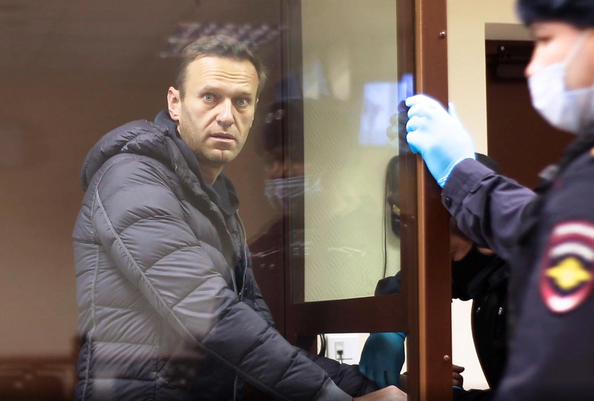 Oppositionsledaren Alexsej Navalnyj.