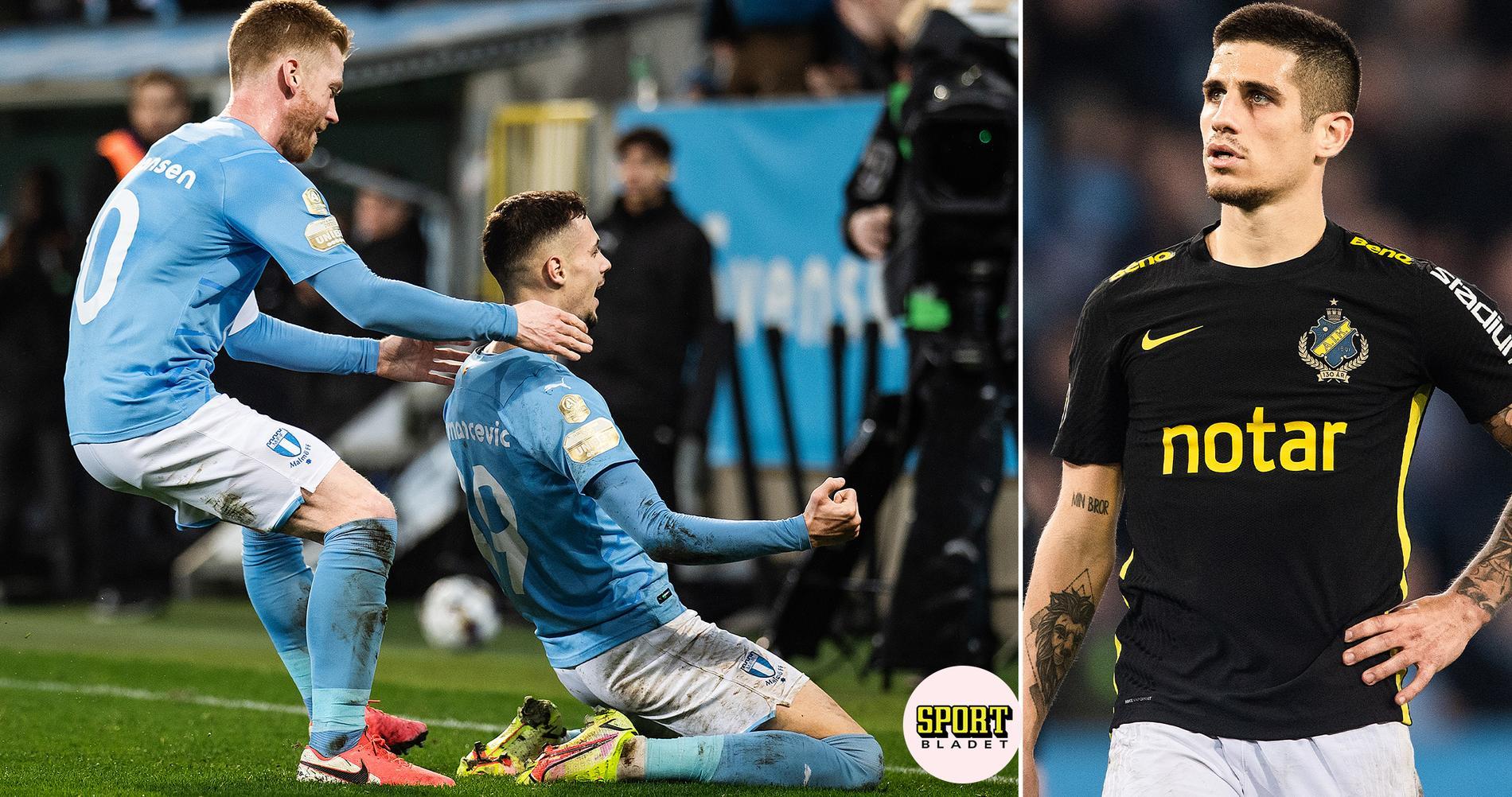 Malmö FF slog AIK i allsvenska guldstriden