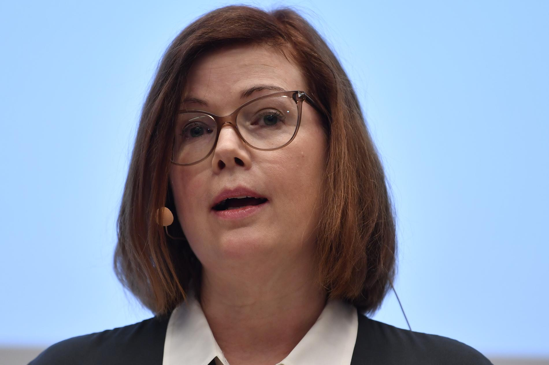 Liberalernas Anna Starbrink, hälso- och sjukvårdslandstingsråd i Region Stockholm.