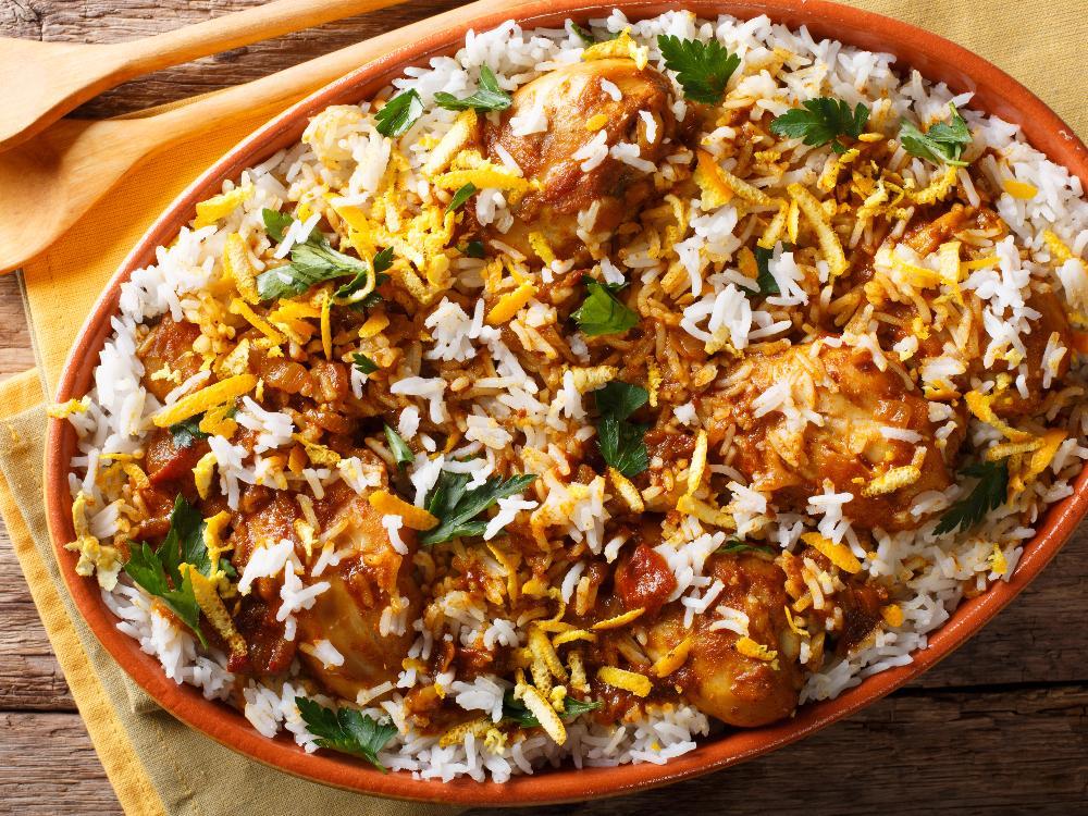 Biryani – kryddig och god kycklingrätt