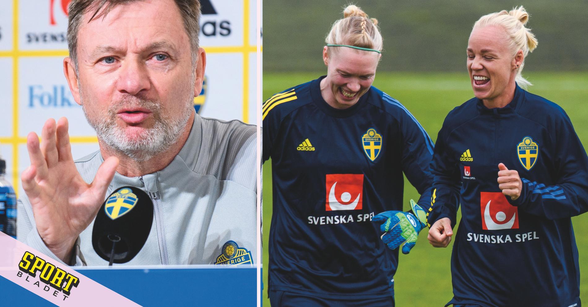 """Peter Gerhardsson hyllar veteranerna """"Väldigt viktiga"""""""