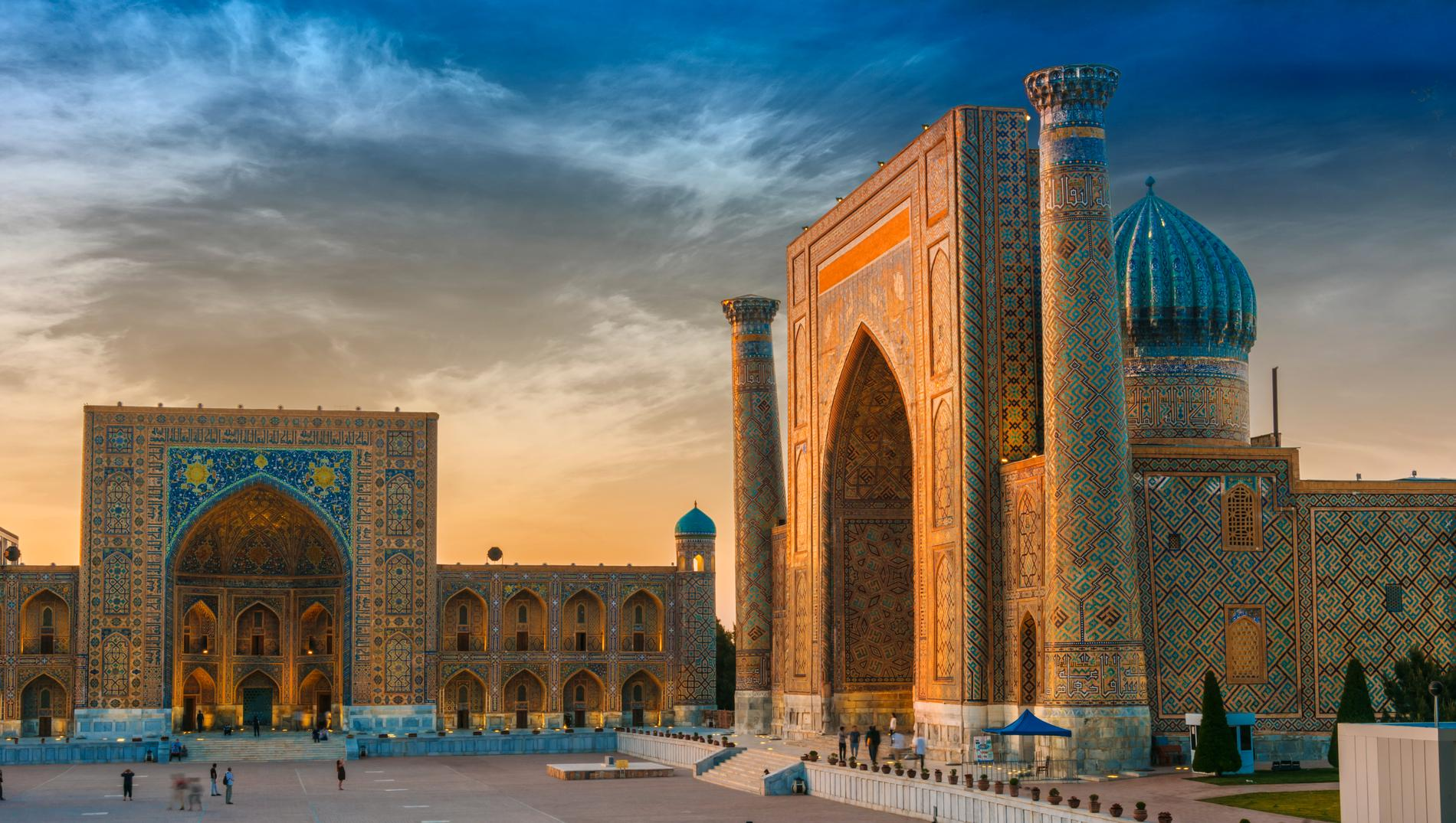 Registan är ett världsarv värt att besöka i Samarkand.