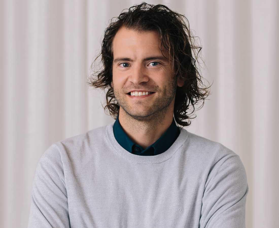 Erik Holmberg, analytiker hos Hemnet.