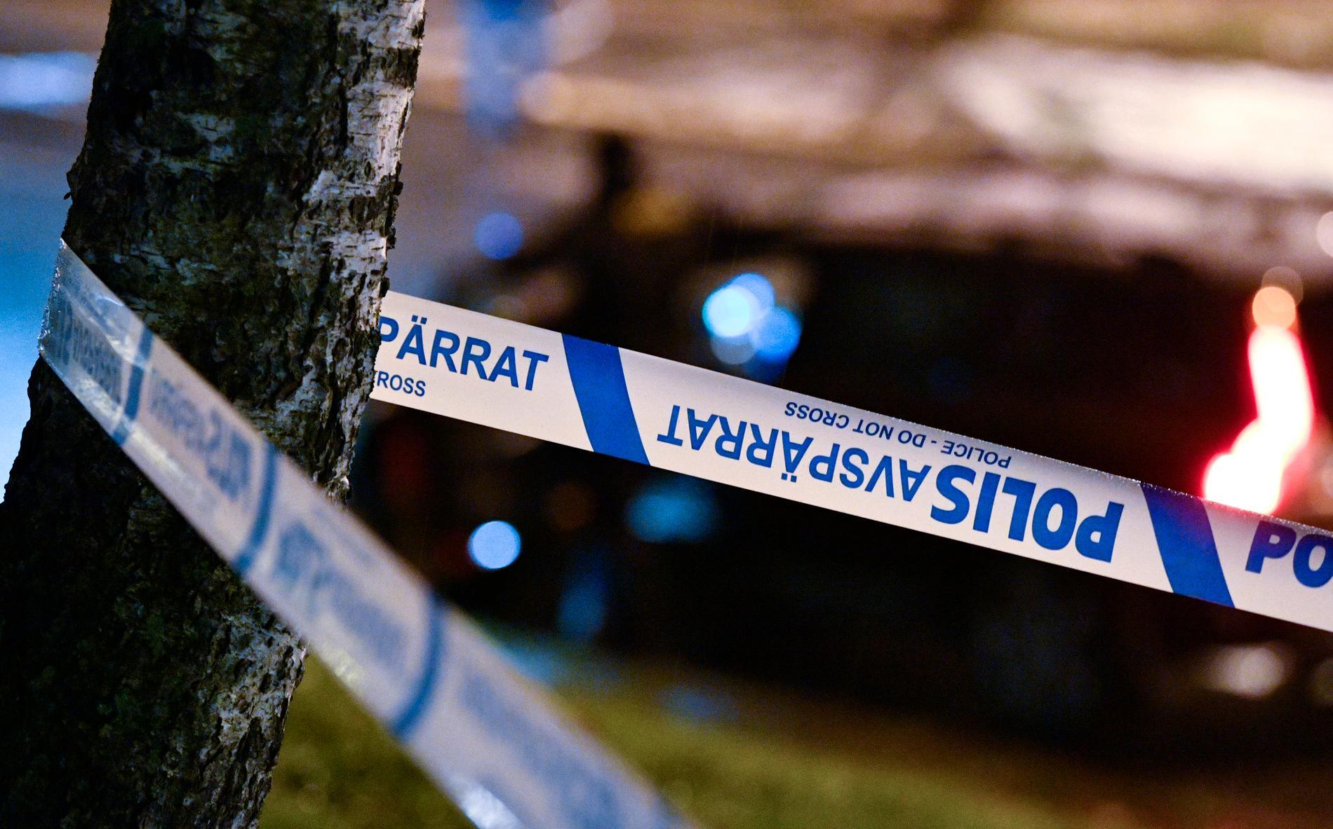 En person har hittats avliden i Sollefteå kommun, enligt Polisen. Arkivbild.