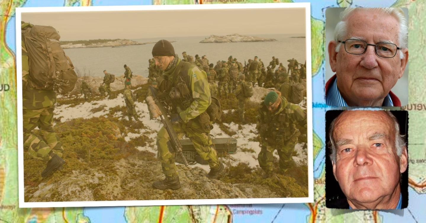 Inget land har ett territorialförsvar baserat på en yrkesarmé. Om hela Sverige ska kunna försvaras krävs att den allmänna värnplikten återinförs. Det steget bör tas redan nu, skriver förre försvarsministern Thage G Peterson och Lars Gunnar Liljestrand.