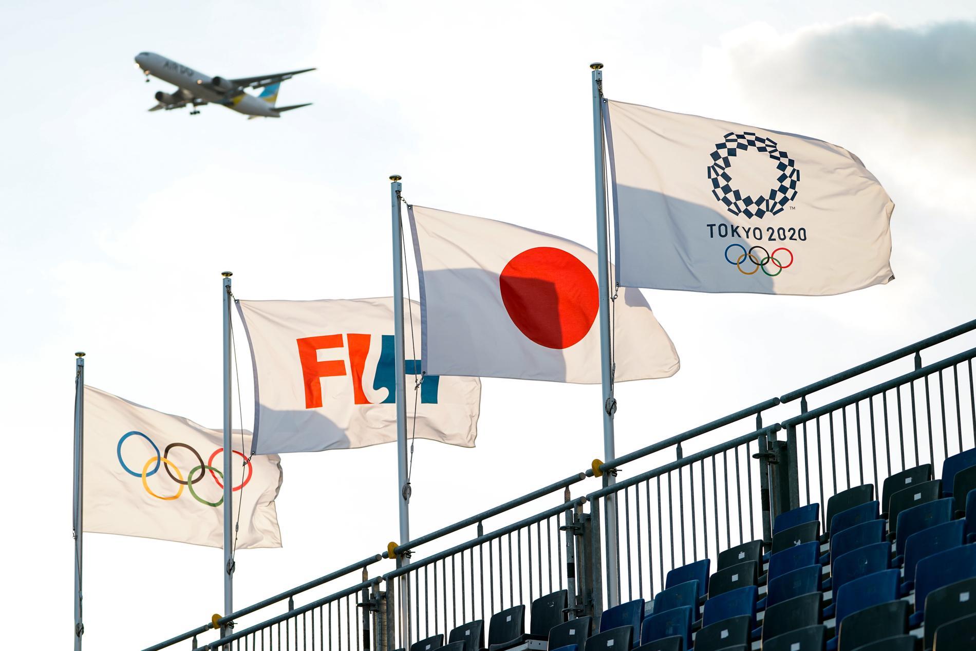 En amerikansk journalist fick åka hem igen för att kunna ta sig in i Japan i tid för OS.