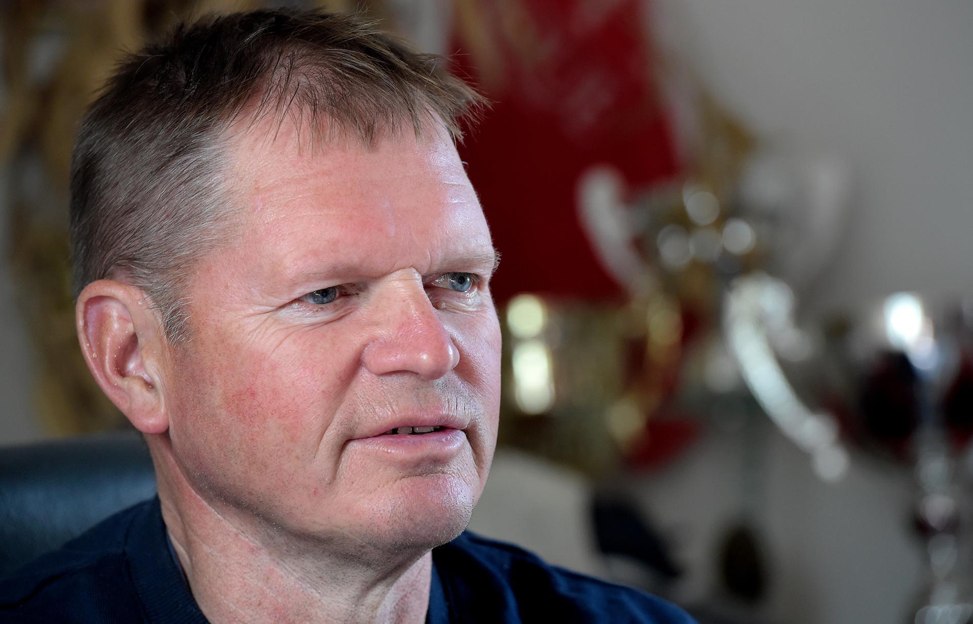 """""""Det var en otäck händelse men jag klarade mig ändå rätt så bra efter omständigheterna"""", säger Jarmo Niskanen om olyckan i december 2018."""
