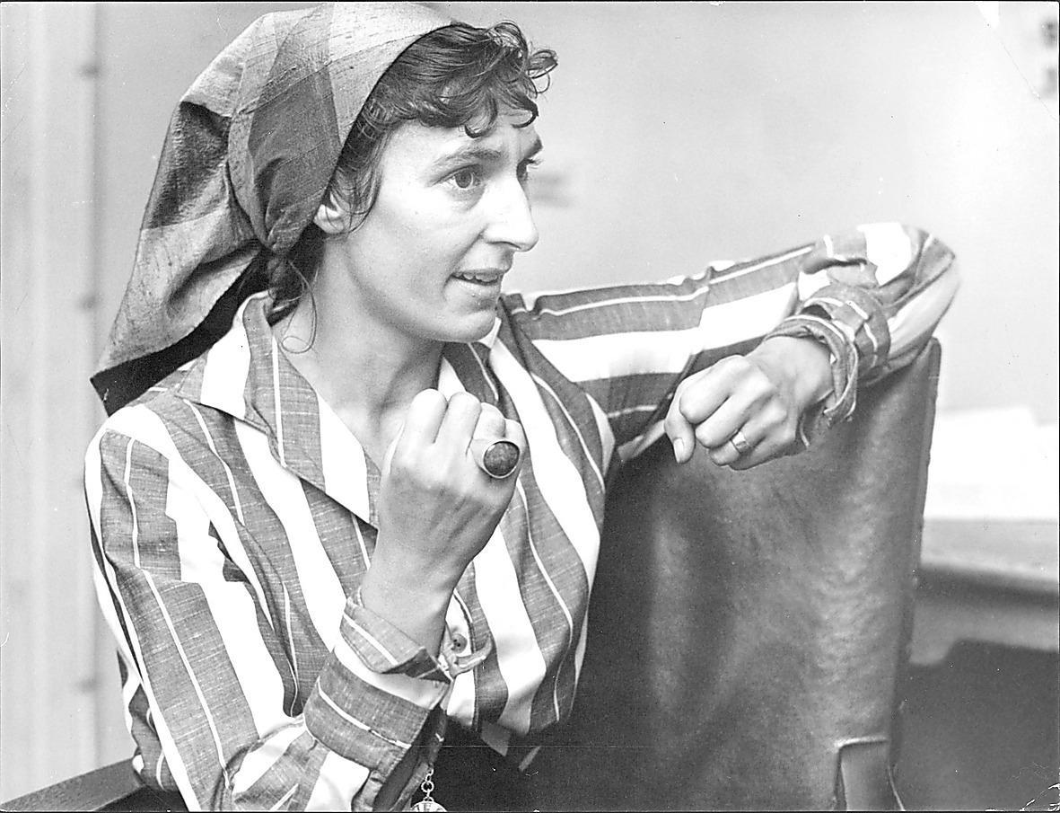 """Katarina Taikon (1932–1995), gav ut """"Zigenare"""" för 53 år sedan. Foto: Örjan Söderlund"""