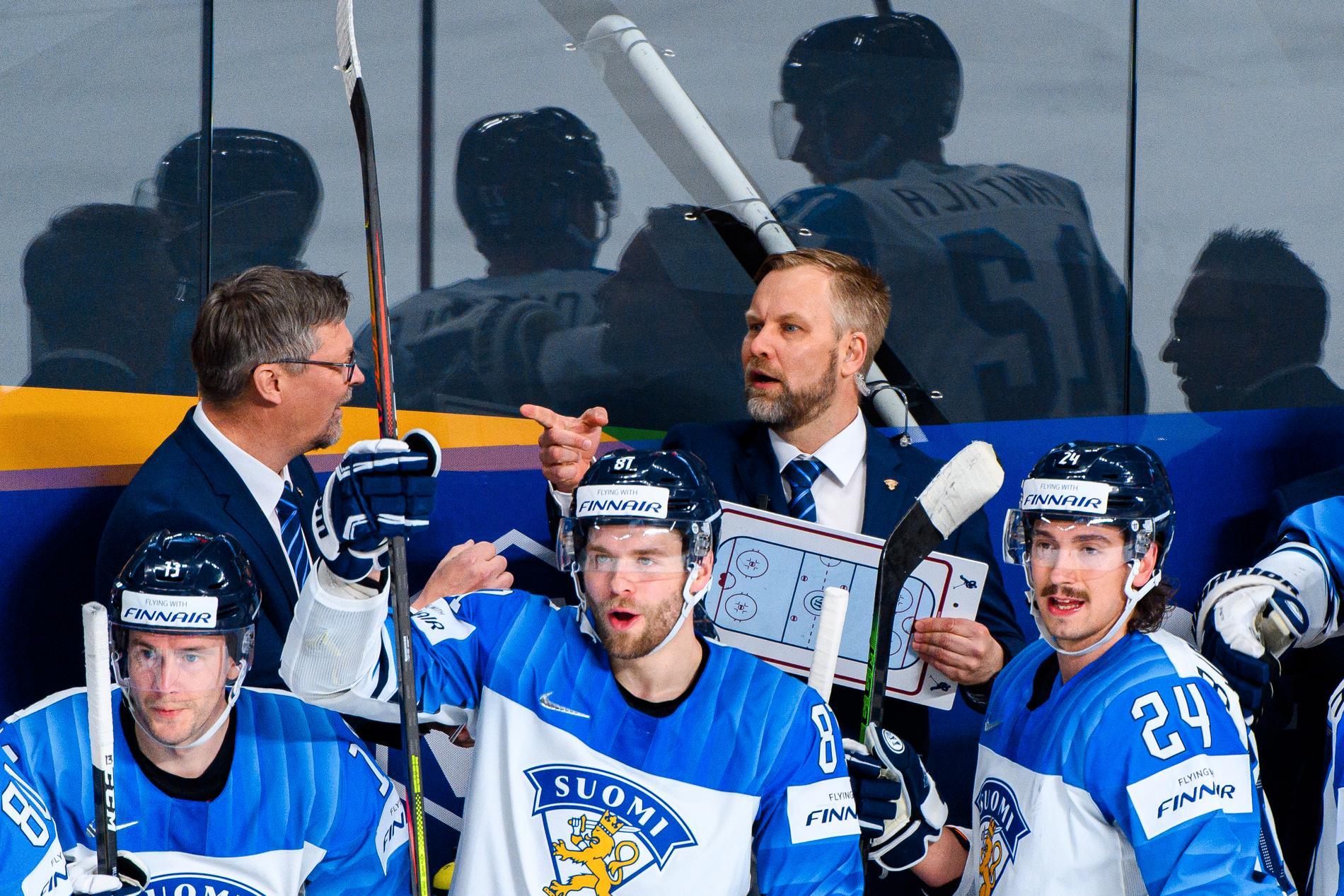 Mikko Manner, till höger, och Jukka Jalonen