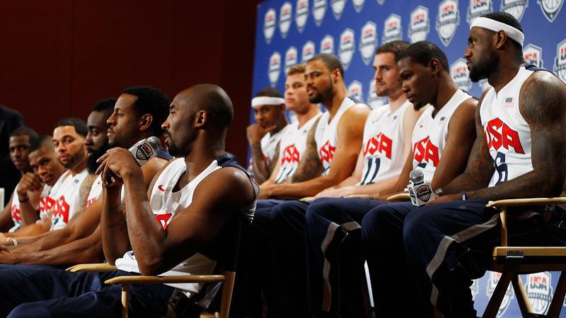 USA:s OS-trupp i basket presenterades på lördagen.