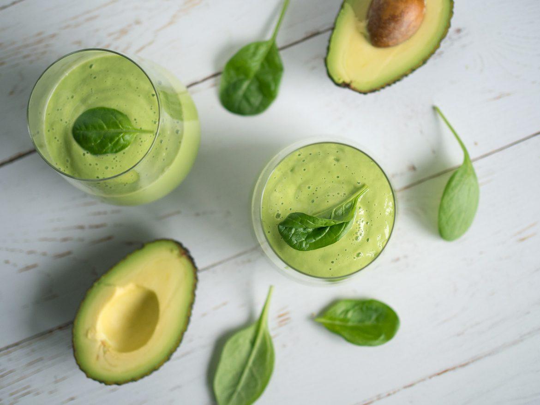 Smoothie med avokado.